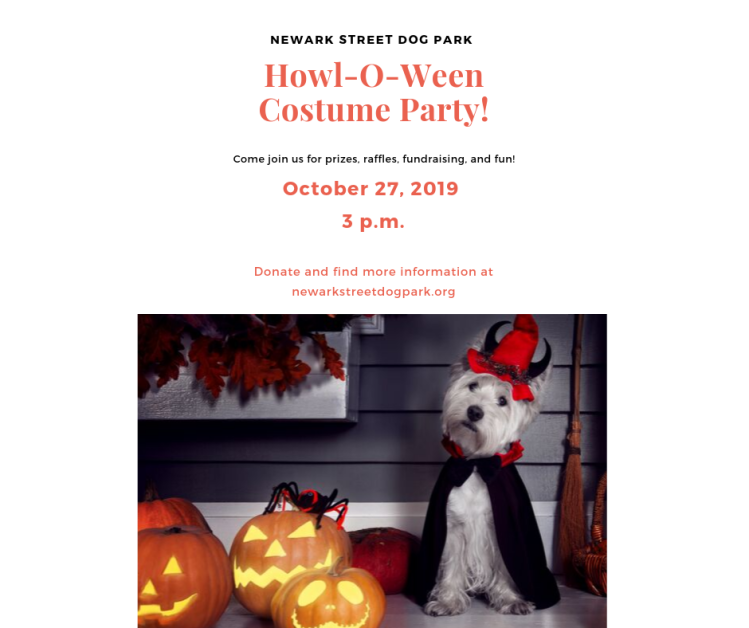 Copy of Howl-O-Ween Costume Party!